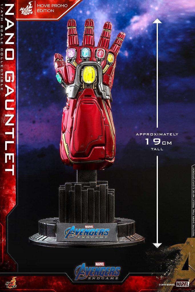 Hot Toys -Nano Gauntlet - Movie Promo Edition - 1/4 Quarter Scale - Avengers: Endgame