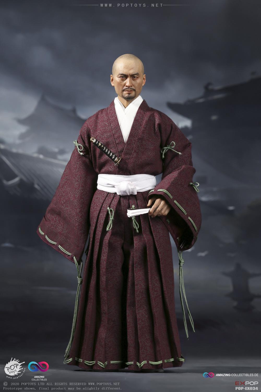 Poptoys   Benevolent Samurai   Robes Version