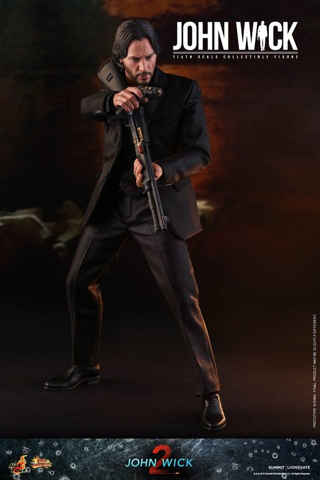 Hot Toys - John Wick (Limitierte Neuauflage - Limited Re-Issue) - John Wick Chapter 2