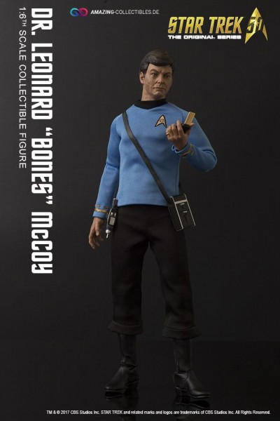 "Quantum Mechanix - Leonard ""Bones"" Mccoy - Star Trek - Exclusiv Version"