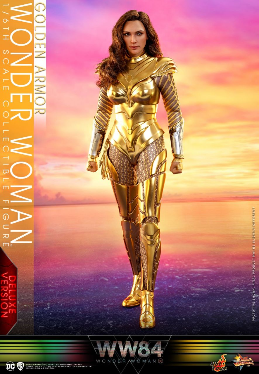 Hot Toys - Wonder Woman - Golden Armor Deluxe Version - Wonder Woman 1984