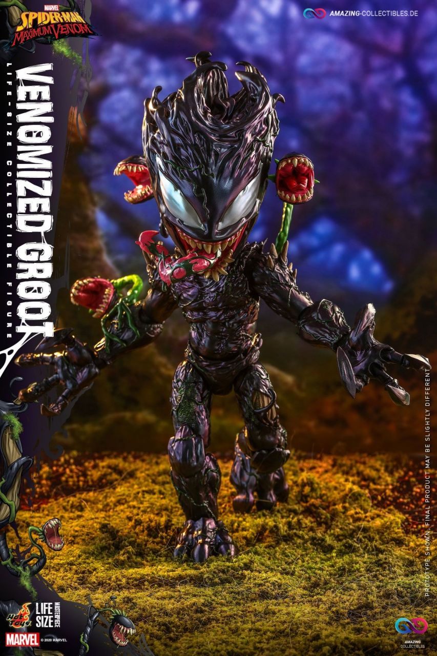 Hot Toys - Venomized Groot - TMS027 - Marvel`s Spiderman: Maximum Venom
