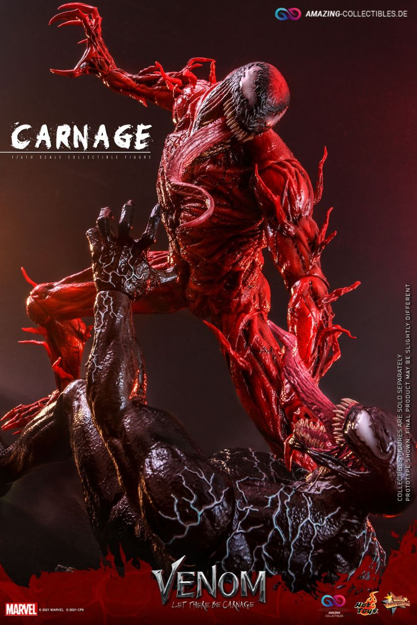 Hot Toys - Carnage - Standart Version - MMS620 - Venom:Let there be carnage