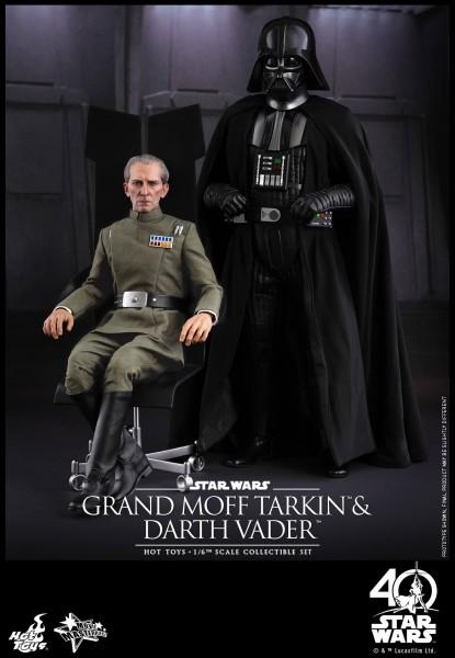 Hot Toys - Grand Moff Tarkin und Darth Vader Set - Star Wars
