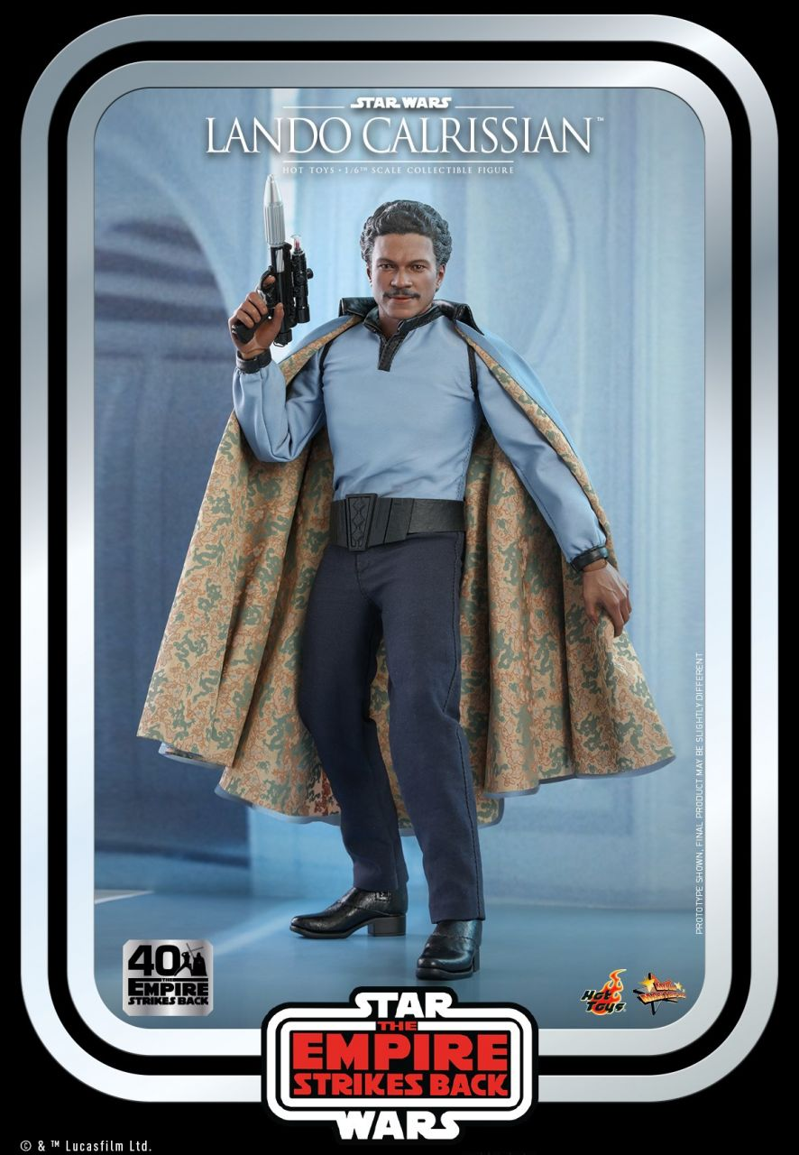 Hot Toys - Lando Calrissian - 40th Anniversary Collection - Star Wars - Das Imperium schlägt zurück