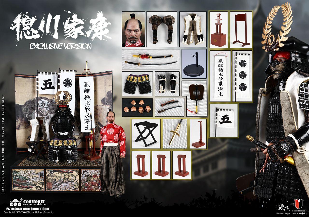 Coomodel - Shogun Tokugawa Ieyasu - Exclusive Version - Series of Empires