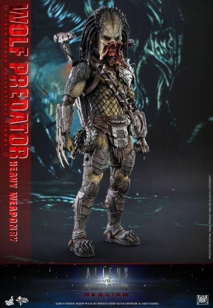 Hot Toys - Wolf Predator 2.0 - Alien v Predator Requiem