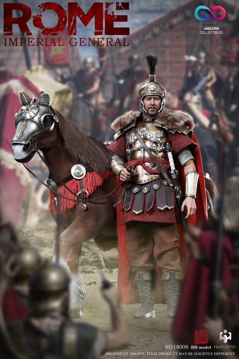HHmodel x HaoYuTOYS - Rome Imperial General (Deluxe Edition) - 1/6 Imperial Army