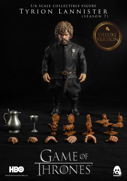 ThreeZero - Tyrion Lannister - Season 7 - Deluxe Version - Game of Thrones