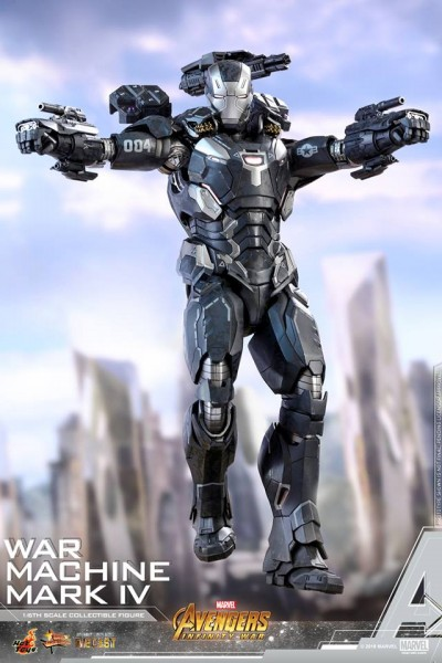 Hot Toys - War Machine - Mark IV Diecast - Avengers:Infinity War