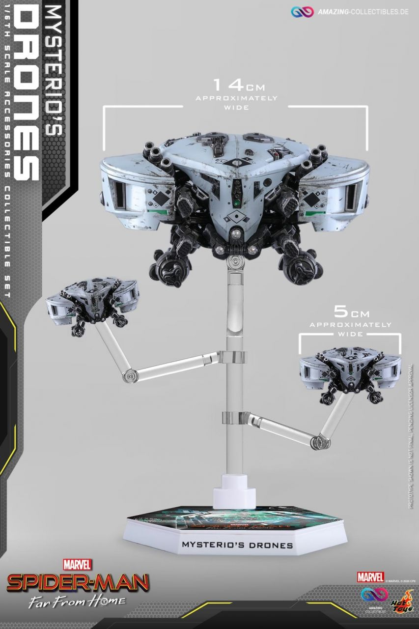 Hot Toys - Mysterio`s Drone Set - ACS011 - Spiderman: Far from home