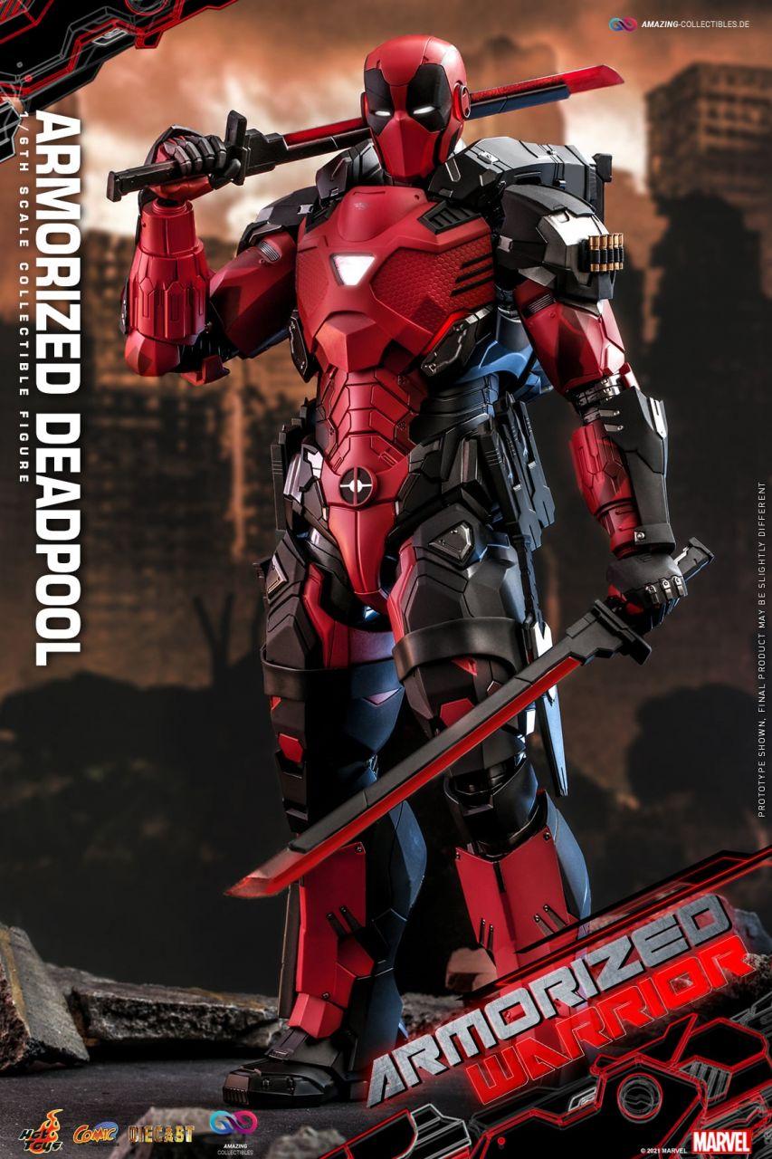 Hot Toys - Armorized Deadpool - CMS09D42 - Marvel Comics - Armorized Warrior