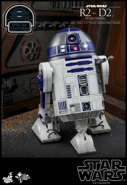 Hot Toys - R2-D2 Deluxe Version - Star Wars
