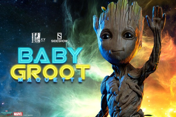 Sideshow - Baby Groot - Life Size Maquette - Guardians of the Galaxy 2