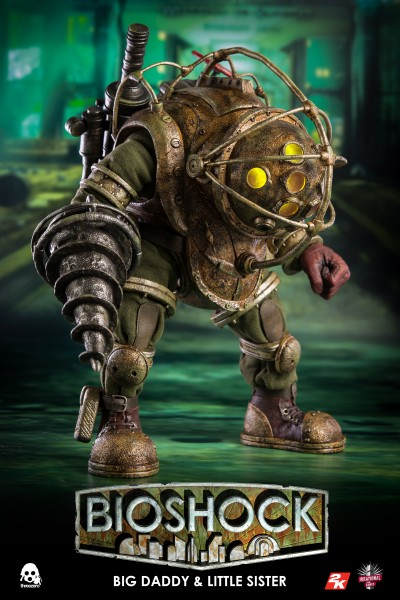 ThreeZero - Big Daddy and Little Sister - Bioshock