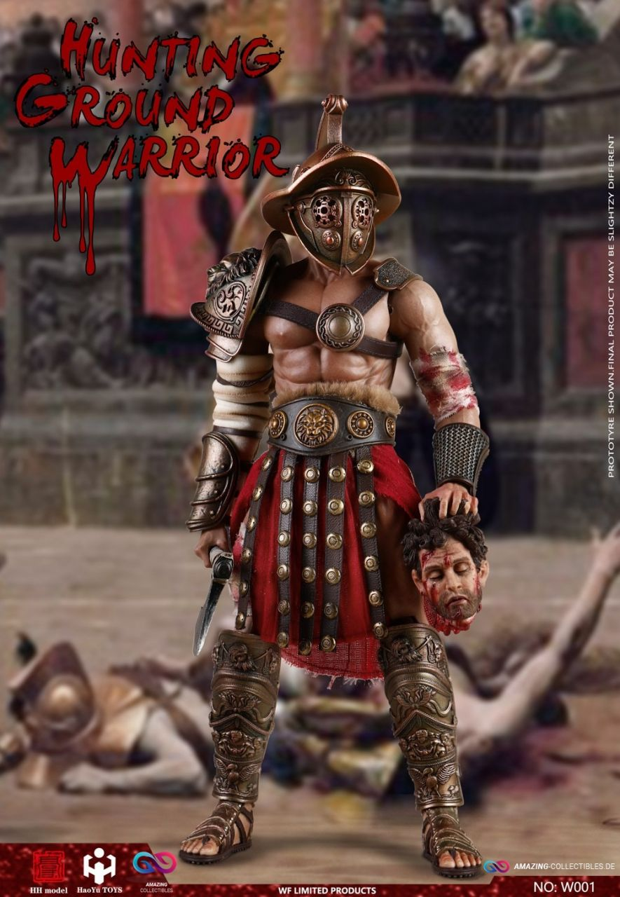 HHmodel x Haoyu Toys - Hounting Ground Warrior - WF001