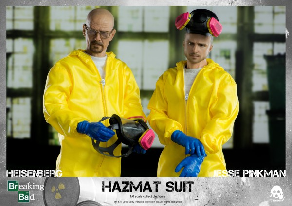 ThreeZero - Heissenberg & Jesse Pinkman - Hazmat Suit Combo - Breaking Bad