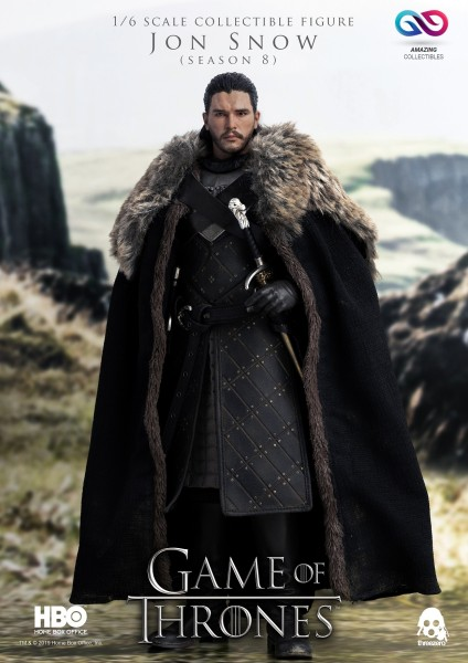 ThreeZero - Jon Snow - Season 8 - Game of Thrones