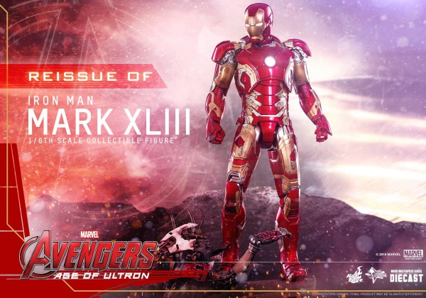 Hot Toys - Iron Man Mark 43 (XLIII) Diecast - Avengers: Age of Ultron