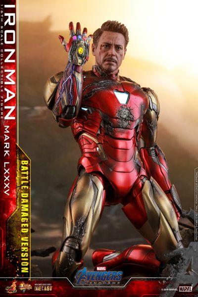 Hot Toys - Iron Man LXXXV - Battle Damage Version - Avengers: Endgame