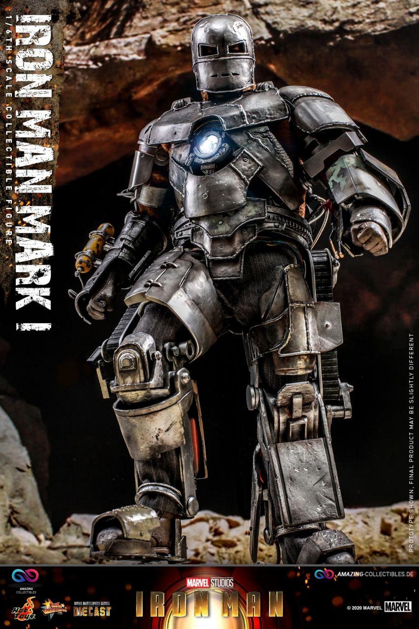 Hot Toys - Iron Man - Mark I - Diecast Version - MMS605D40 - Iron Man