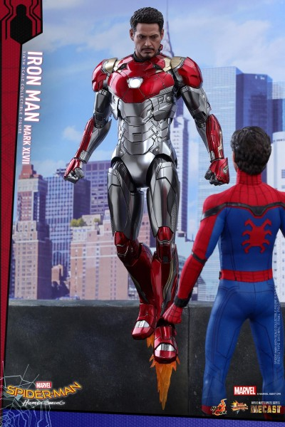 Hot Toys - Iron Man Mark XLVII Diecast - Spiderman Homecoming