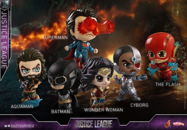 Hot Toys - Cosbabys - Justice League Set - 6 Figuren