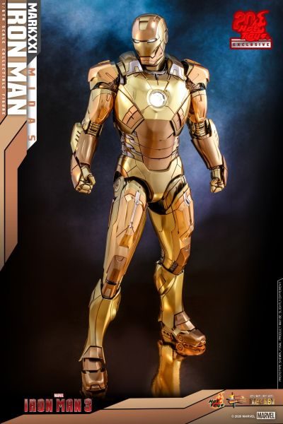 Hot Toys - Iron Man - Mark XXI Midas Diecast - Iron Man 3