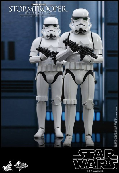 Hot Toys - Stormtrooper - Deluxe Version - Star Wars - Rückkehr der Jedi Ritter