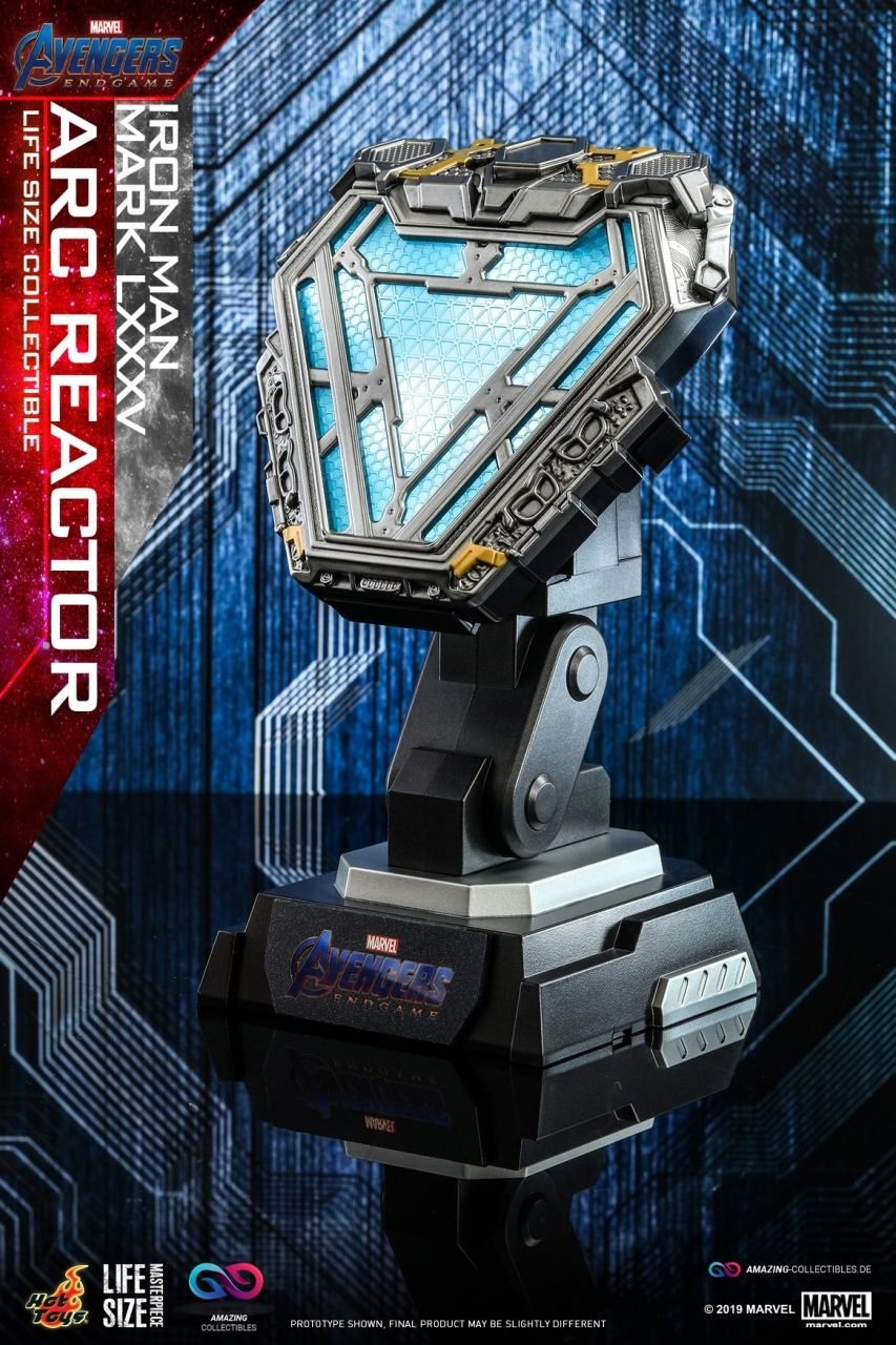 Hot Toys - Arc Reactor - Mark LXXXV - Marvel Cinematic Universe - Lifesize Collectible