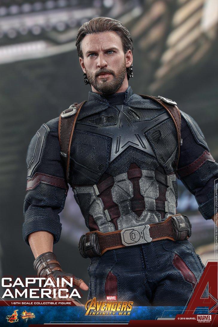 Hot Toys Captain America Avengersinfinity War Jetzt Lieferbar