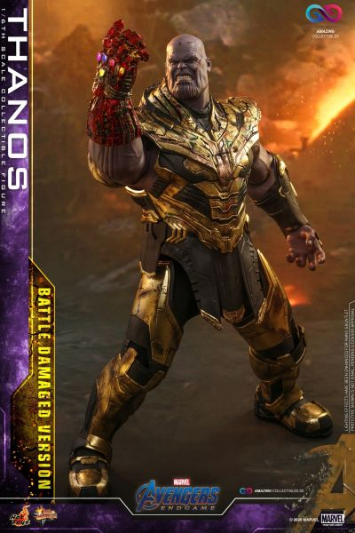 Hot Toys - Thanos - Battle Damage Version - Avengers: Endgame