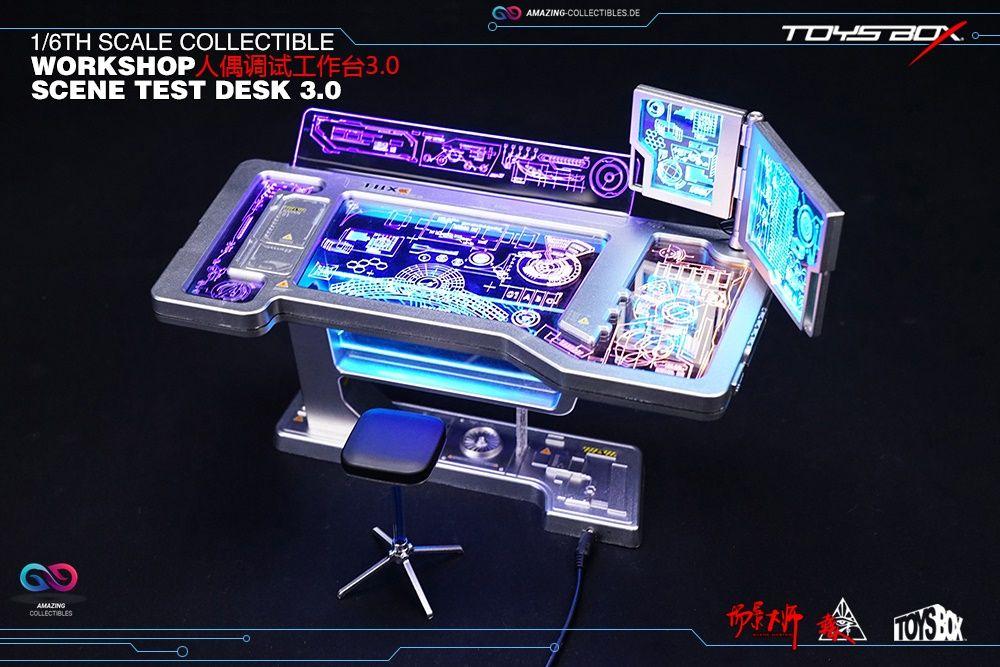 Toysbox - Tony Stark Iron Man Workshop Scene Test Deck 3.0 - TB090