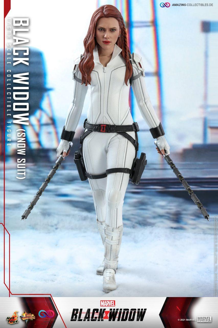 Hot Toys - Black Widow (Snow Suit Version) - MMS601 - Black Widow