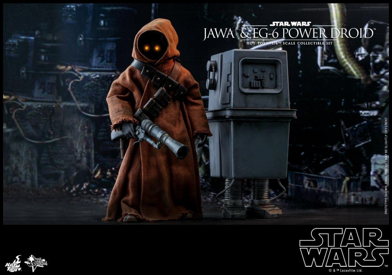Hot Toys - Jawa and EG 6 Power Droid - Star Wars - Episode IV - Eine neue Hoffnung