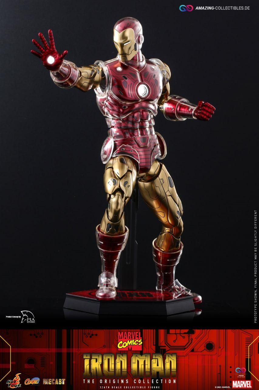Hot Toys - Iron Man - Standart Edition - Marvel Comics - The Origins Collection