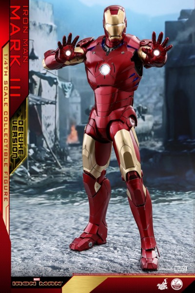 Hot Toys - Mark III DX Version - Quarter Scale - Iron Man