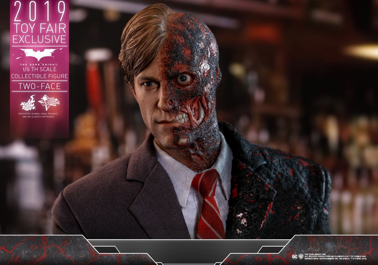 Hot Toys - Two Face - Toy Fair Exclusiv - The dark knight