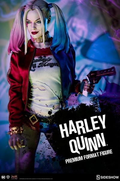 Sideshow - Harley Quinn - Premium Format Statue - Suicide Squad