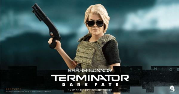 ThreeZero - Sarah Connor- Terminator - 1/12 Figur - Terminator: Dark Fate