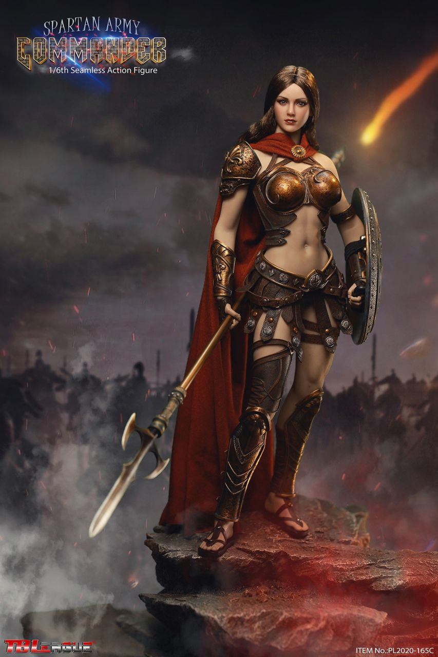 TBLeague (Phicen) - Spartan Army Commander - Golden Commander