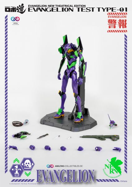 ThreeZero - Evangelion Test Type-01 - Evangelion: New Theatrical Edition - Robo-Dou Serie