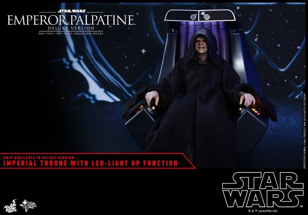 Hot Toys - Imperator Palpatine DX mit Thron - Star Wars - Rückkehr der Jedi Ritter