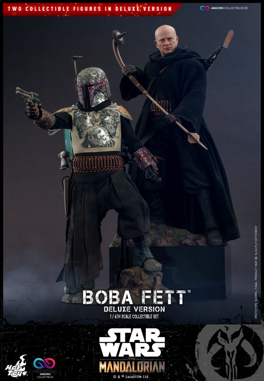 Hot Toys - Boba Fett - Deluxe Version - Star Wars: The Mandalorian