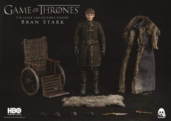 ThreeZero - Bran Stark - Normale Version - Game of Thrones