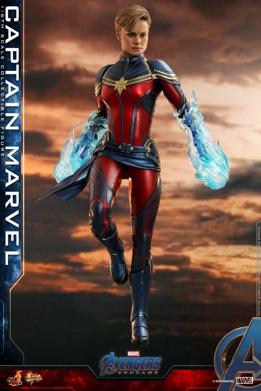 Hot Toys - Captain Marvel - Avengers: Endgame