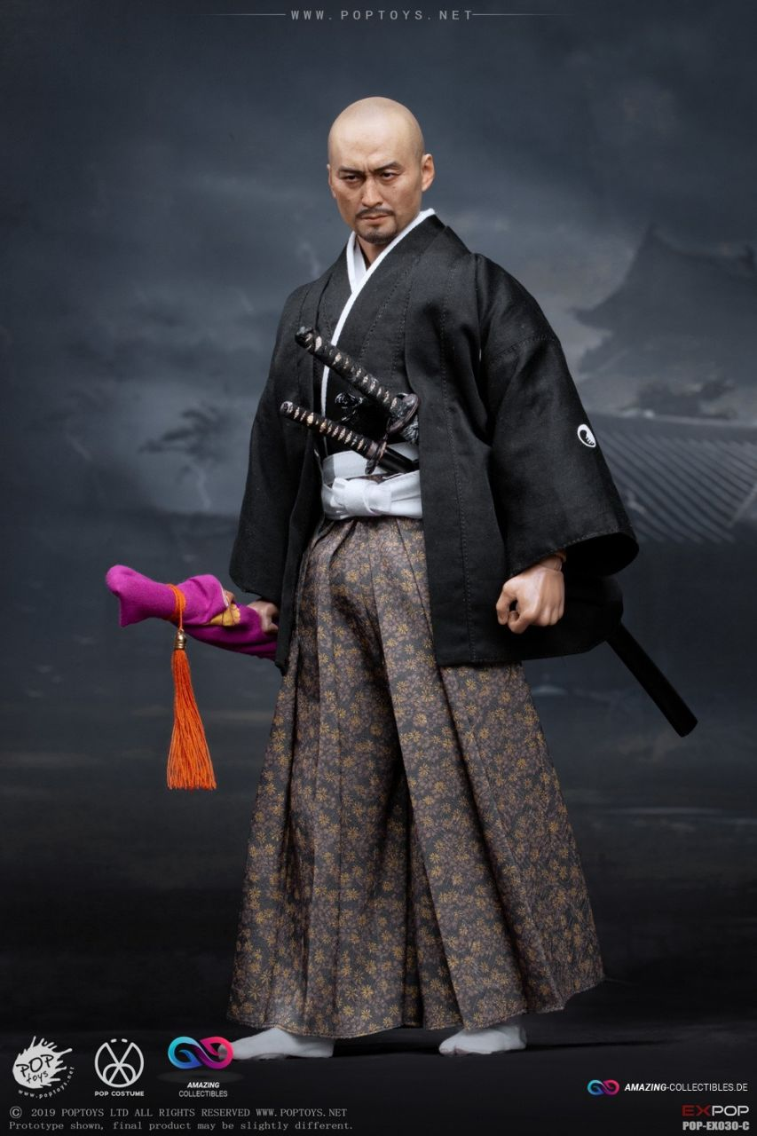 Poptoys - Benevolent Samurai - Petition Version accessory package