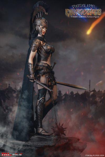 TBLeague (Phicen) - Spartan Army Commander - Black Commander