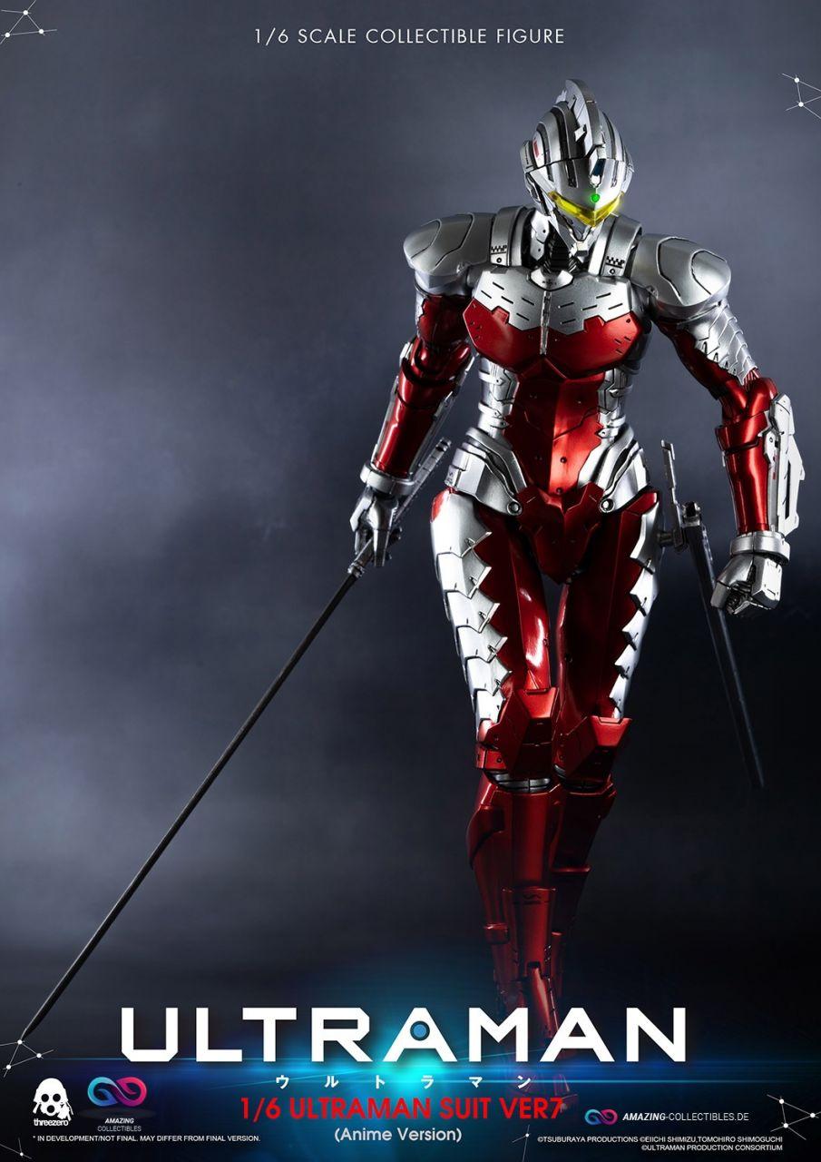 ThreeZero - Ultraman - Suit 7 - Anime Version