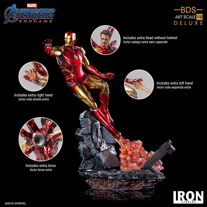 Iron Studios - Iron Man - DX Version - BDS Art Scale - Avengers:Endgame